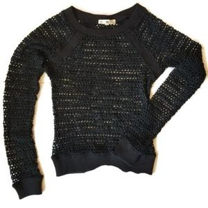 Nightcap Crochet Big Mesh Long Sleeve Top
